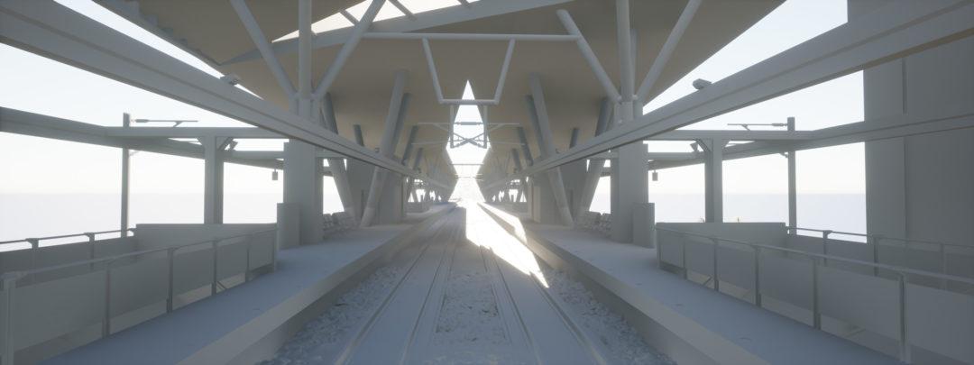 Dyade - Projet Train station Clay