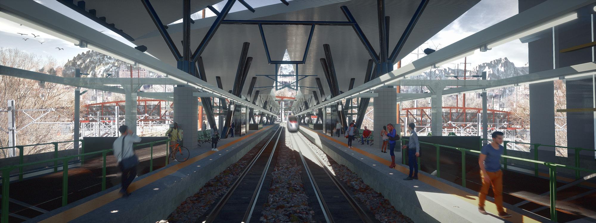 Dyade - Projet Train station PSD