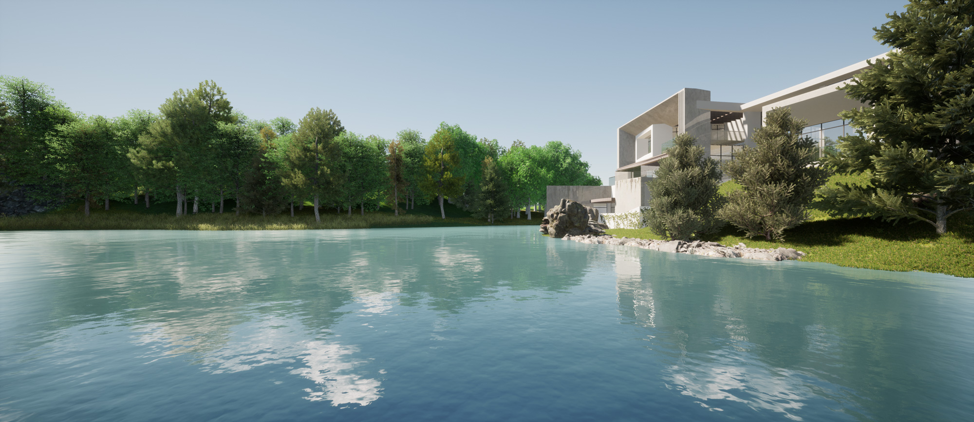 Dyade - Projet Villa Lac Twin